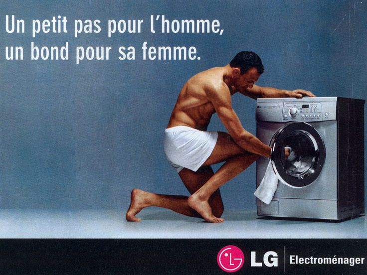 homme machine a laver
